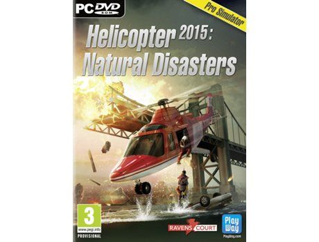 Jogo PC DVD Helicopter 2015: Natural Disasters (Pro-Simulator)