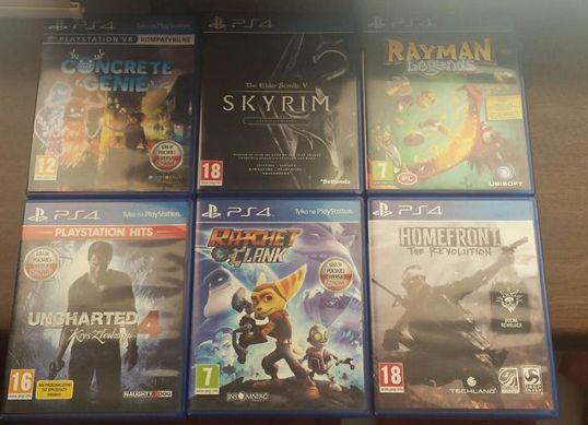 Gry PS4 Playstation 4 ceny do negocjacji