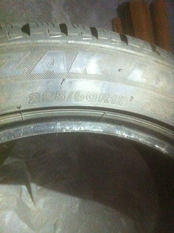 Б/у шины/резина зимние 225/50 R17 комплект 4 шт.