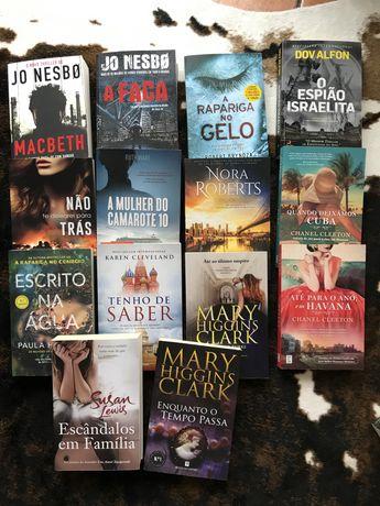 Livros de varios autores