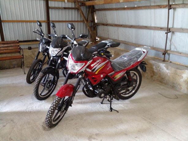 Мотоцикл Musstang Region 150-200 ШЛЕМ В ПОДАРУНОК!