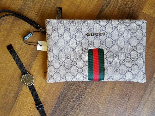 Gucci Vintage kopertówka torebka listonoszka Supreme Crossbody Bag