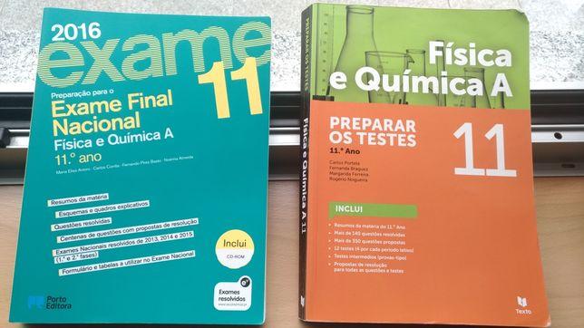 Livros preparação exame Física-Química