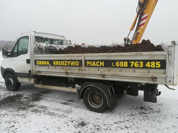 Ziemia ogrodowa Transport Czarnoziem