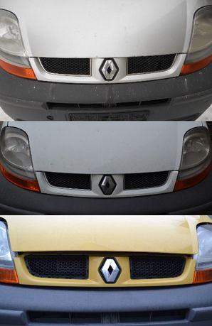 Решетка радиатора на Renault Trafic, Opel Vivaro, Nissan Primastar