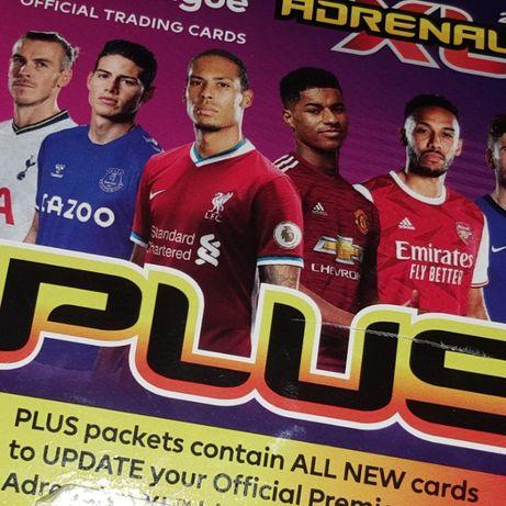 Panini Premier League Plus karty specjalne