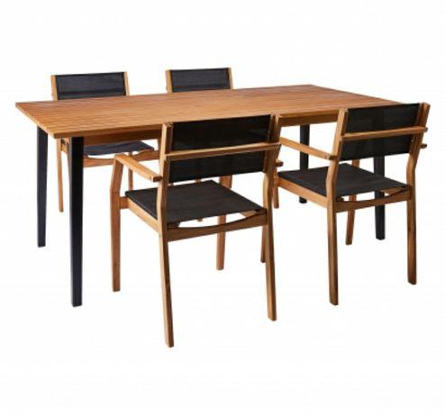Stół ogrodowy drewniany (akacja) 180cmx90cm