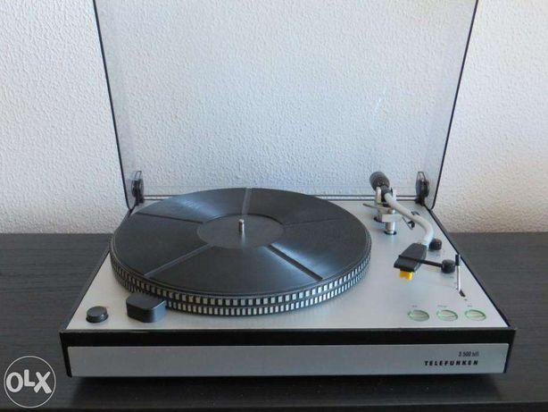 Gira discos telefunken s 500 ortofon as 212 Shure M91 ED