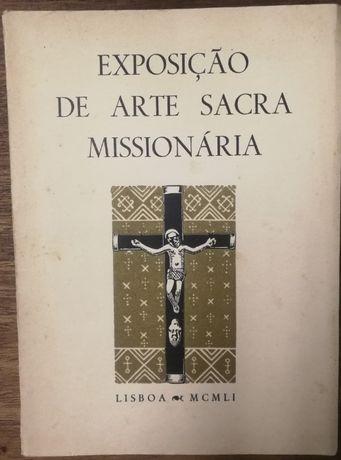 exposiçãp de arte sacra missionária, lisboa , 1951