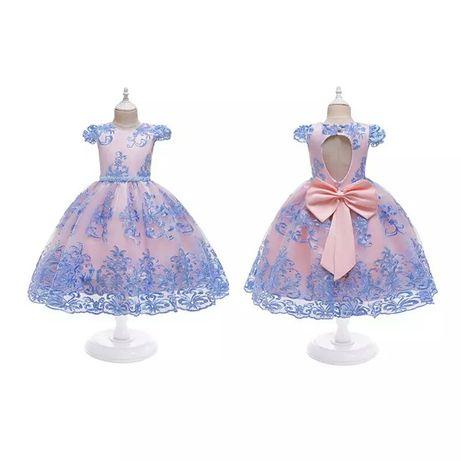 Новое нарядное платье на девочку, плаття на свято для дівчинки 98-150
