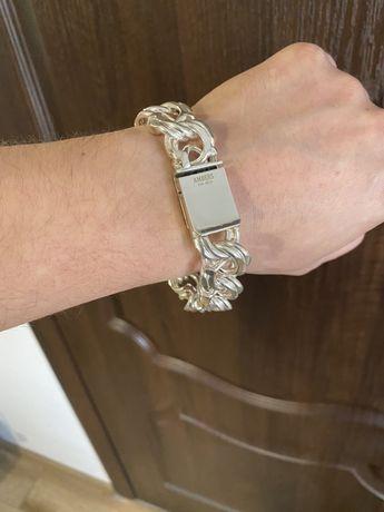 Серебряный браслет 152 грамма