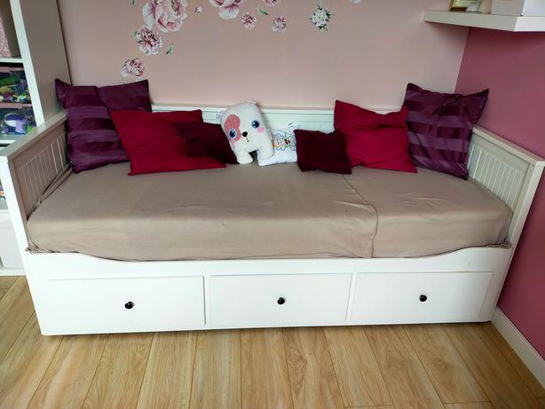 Łóżko Ikea Hemnes 2 materace
