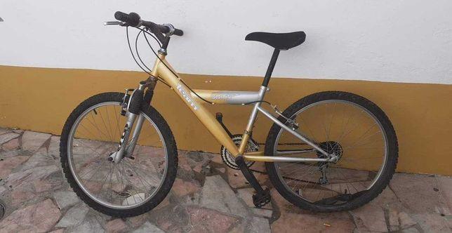 Bicicleta roda 24 marca chimano