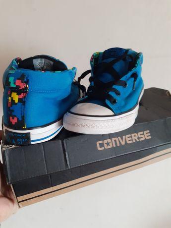 Unikatowe trampki półtrampki Converse wkładka 22cm