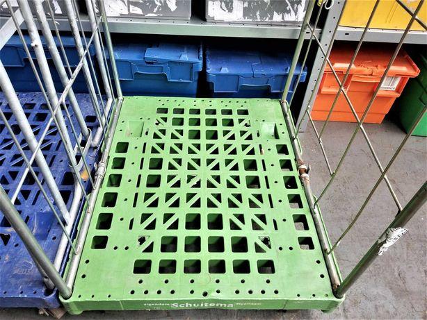 WYPRZEDAŻ Wózek Transportowy Platforma Siatkowy Magazynowy 80x67x170cm