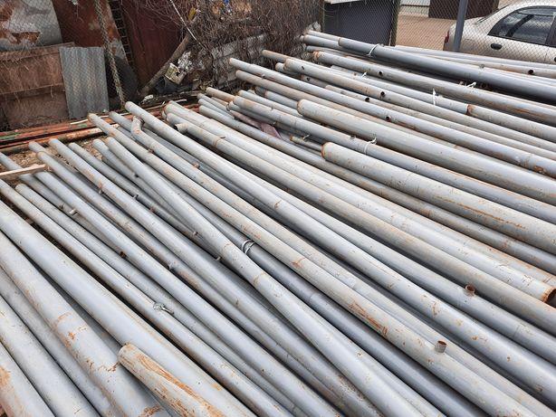 """Металлические трубы """"сотка"""" длина 7-8 метров/ металеві труби сотка"""