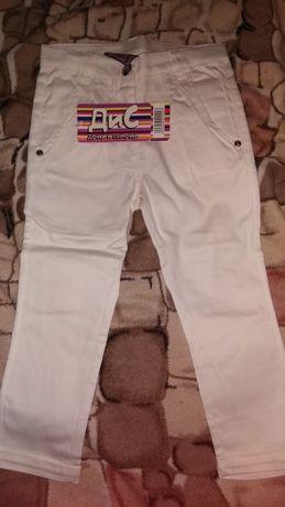 Летние котоновые штаны для девочки