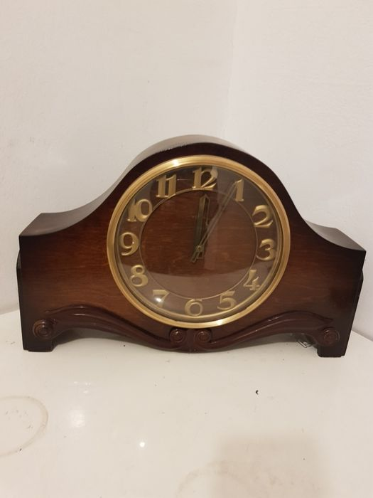 Zegar antyk zabytkowy kominkowy VESNA Radom - image 1