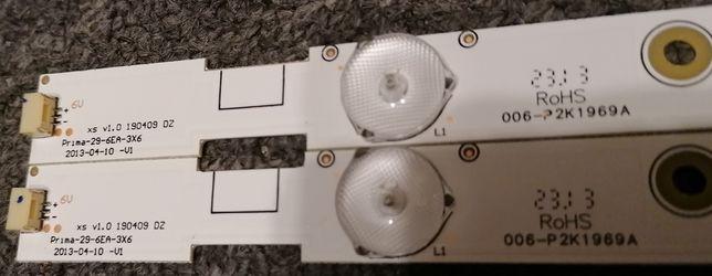 2xlistwa LED do Panasonic 29, Prima-29-6EA-3X6, Dł. 535mm