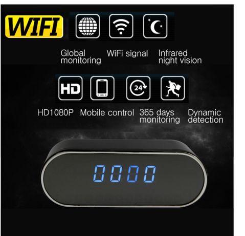 Relógio com Câmera Espia Dissimulada WiFi P2P