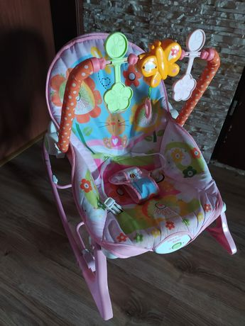 Krzesełko bujak dla dziewczynki