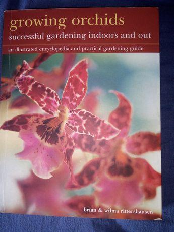 Livro sobre Cultivo de Orquídeas
