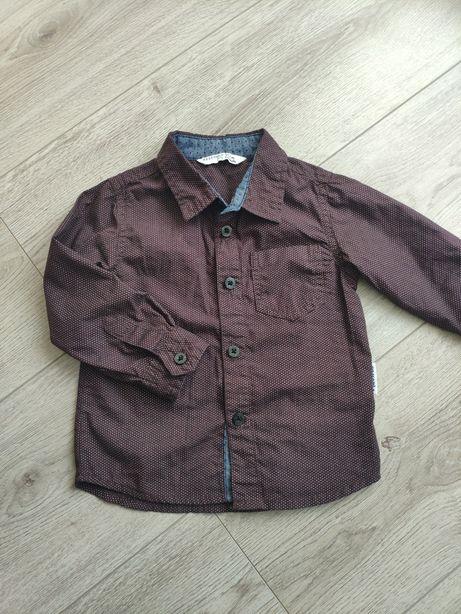Рубашка reserved на 9-12мес