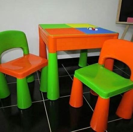 Стол и 2 стульчика Tega Baby Mamut (Тега Беби Мамут), разные цвета!
