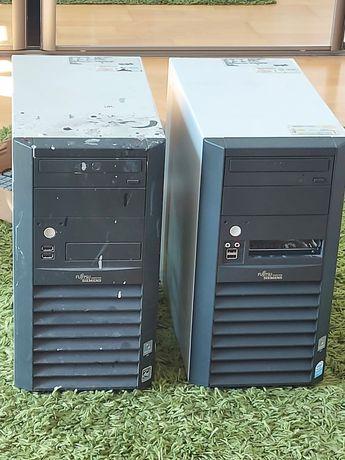 Dwa komputery fujitsu siemens esprimo edition p2511