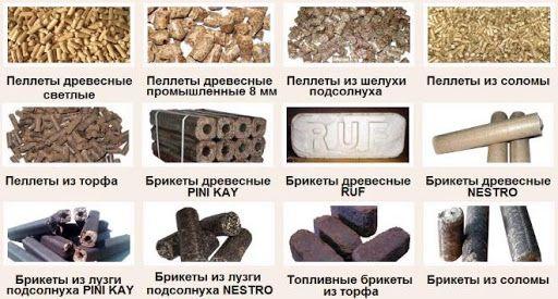 Брикеты и пелеты ( гранулы ) топливные всех видов - ОПТ