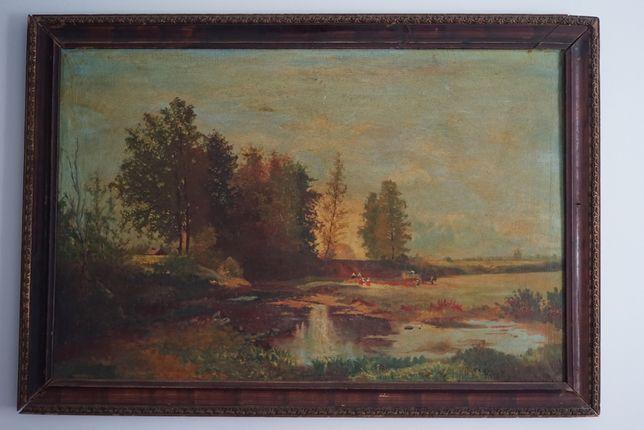 Старинный пейзаж (конец XIX - начало XX вв)