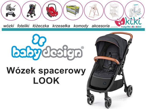 Wózek spacerowy dla dziecka Baby design LOOK Nowość 2020 !!!