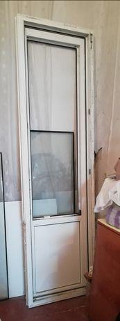 Окно+дверь пластиковые (REXAY)