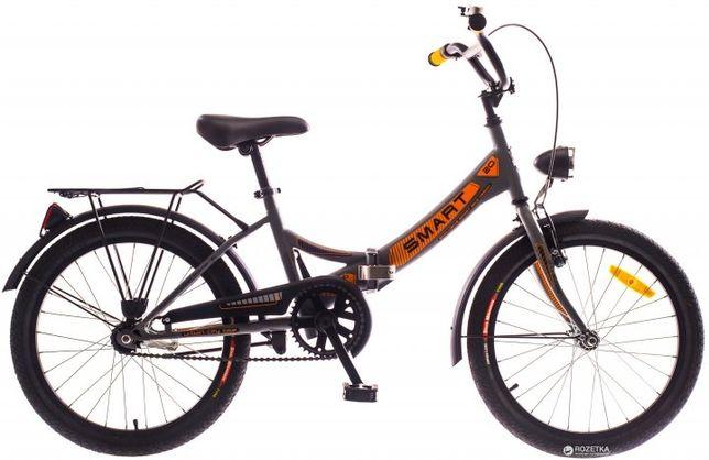 Велосипед дорожник Smart 20 2016 Grey