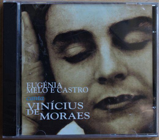 CD - Eugenia Melo e Castro canta Vinicius de Moraes. novo, selado