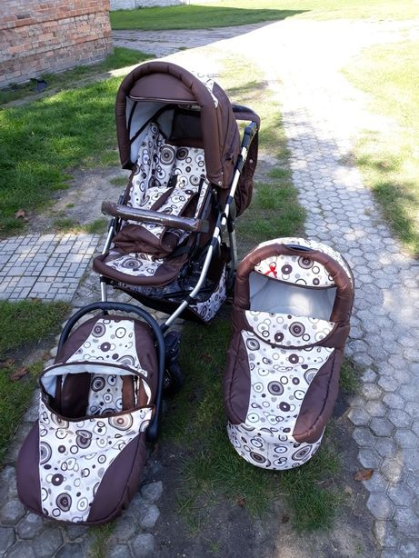 Wózek dziecięcy Adbor Arte Alu 3w1 3x3