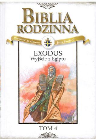 książka biblia rodzinna tom 4 - exodus - wyjście z Egiptu, kolekcja