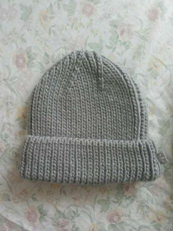 вязанная шапка adidas