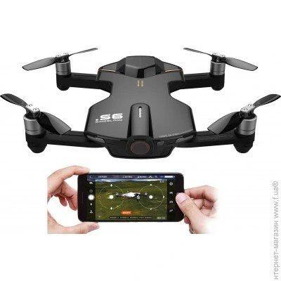 Pocket DRON RC WINGSLAND S6 kamera 4K WIFI fpv rth