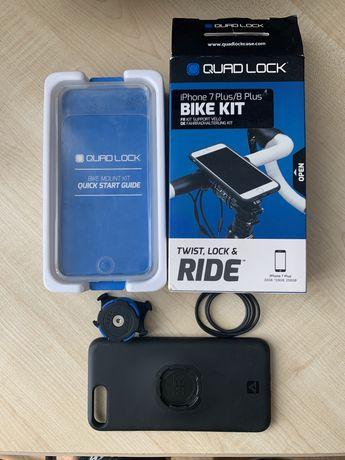 Вело держатель на руль Quad Lock Iphone 7 plus / 7 plux