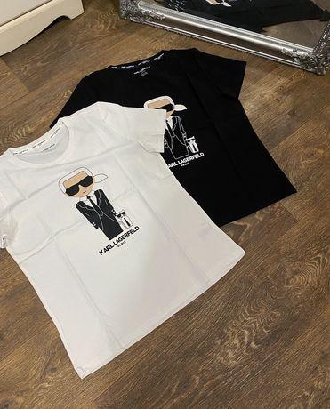 Стильные футболки Karl Lagerfeld 100% оригинал XS S M L