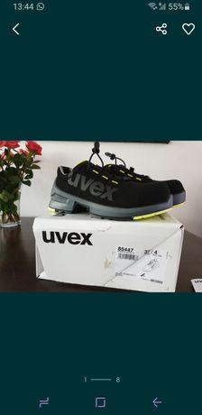 Uvex półbuty ochronne, robocze. Unisex rozm 37