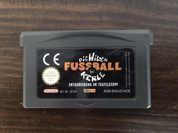 Nintendo DS i Game Boy Advance Fussball