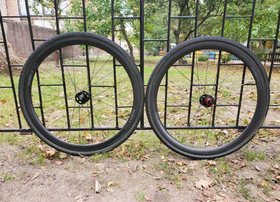 Карбоновые колеса Planet X 38 cyclocross/gravel Черкассы - изображение 1