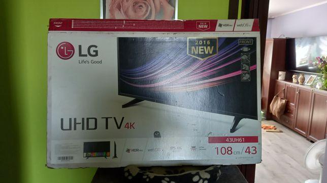 TV LG 43 4K UHD smart
