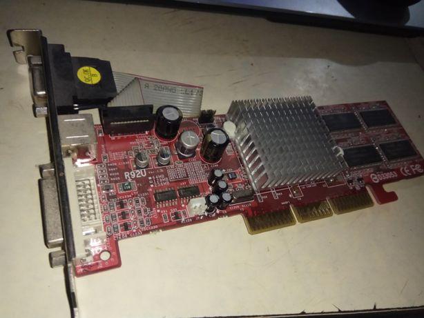 видеокарта 128 мегабайт AGP для старых настольных пк