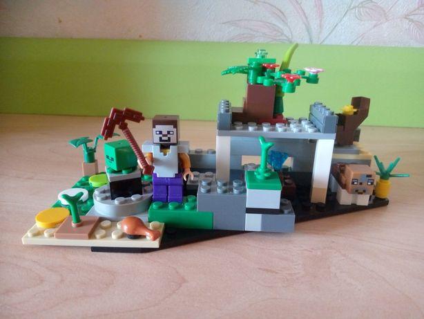 Лего Майнкрафт. Lego Minecraft.