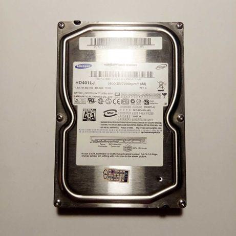 Нерабочий внутренний жесткий диск HDD Samsung HD401LJ 400 GB