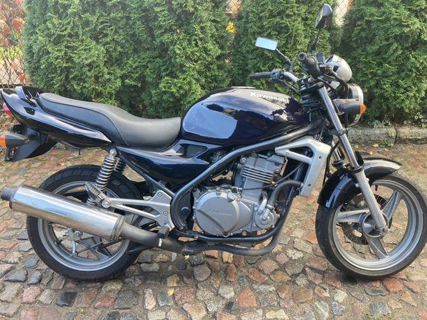 Kawasaki ER5 zarejestrowana