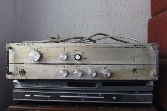 Amplificador Ambaro a Funcionar